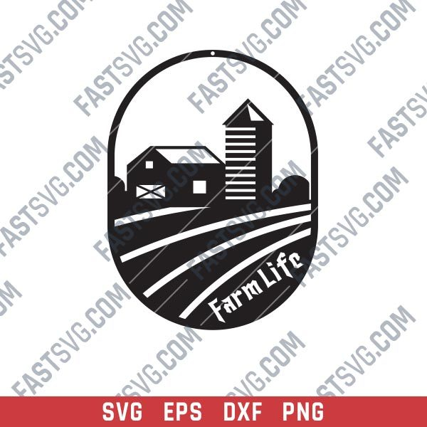 Farme Life Design files - SVG DXF EPS AI CDR