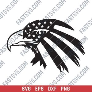 American Eagle Design files P0227 - SVG DXF EPS PNG