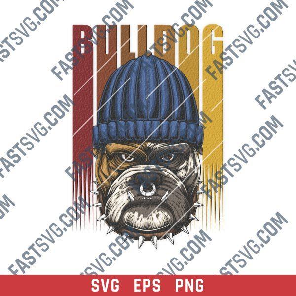 Bulldog vector design